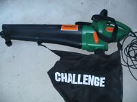 1800w blower vac. Can be used for blowing away leaves in garden. Tested and working