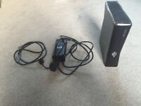 Xbox 360 s 2 controllers and a Headset