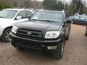 2004 Toyota 4Runner Limited 4X4 SPRING SPECIAL