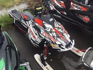2015 POLARIS PRO RMK TERRAIN DOMINATOR EDITION