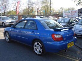 Subaru IMPREZA 2.0 Turbo WRX 4dr, 2002 model, Long MOT, FSH, Clean example