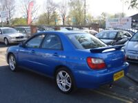 Subaru IMPREZA 2.0 Turbo WRX 4dr, 2002 model, Long MOT, FSH, Clean example