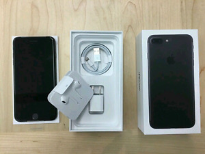 Brand New Matte Black iPhone 7 PLUS 32GB With AppleCare Warranty