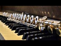 Piano lessons & Flute lessons (Online)