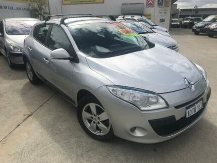 2011 Renault Megane III B32 Dynamique Silver 6 Speed Constant Variable Hatchback St James Victoria Park Area Preview