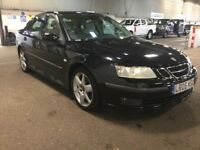 2005 SAAB 9 3 9-3 1.9 DIESEL AUTOMATIC 150 VECTOR SPORT SALOON SPACIOUS FAMILY CAR SAT NAV N MONDEO