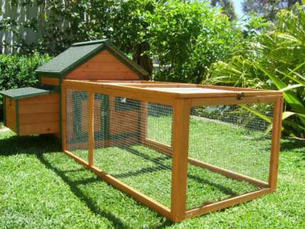 Chicken Coop Somerzby COTTAGE Rabbit Hutch Guinea Pig Cage