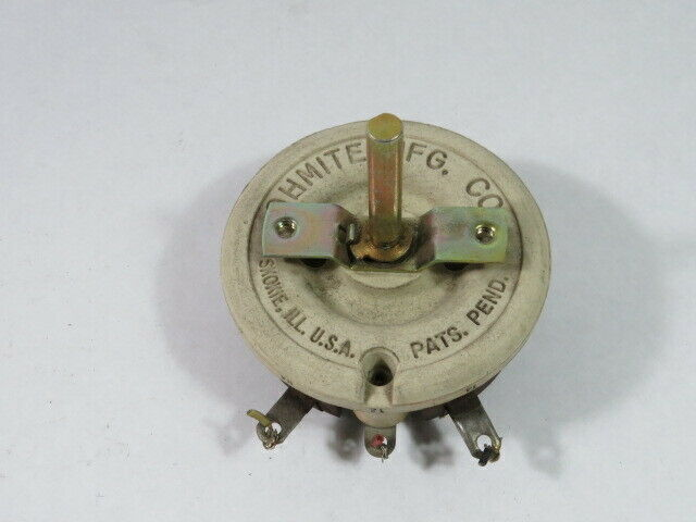 Ohmite 64495-D Rheostat Resistor 17A 500 Ohm  USED
