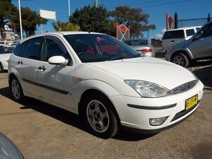 2003 Ford Focus LR MY2003 CL White 4 Speed Automatic Hatchback North St Marys Penrith Area Preview