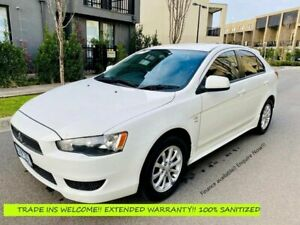 2010 Mitsubishi Lancer CJ MY10 ES Sportback White 6 Speed Constant Variable Hatchback Maidstone Maribyrnong Area Preview