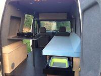 Campervan and van