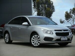 2016 Holden Cruze JH Series II MY16 Equipe Silver 6 Speed Sports Automatic Sedan Ravenhall Melton Area Preview