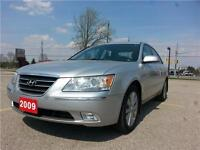 2009 Hyundai Sonata GL Limited | Sun Roof | Satellite | Leather