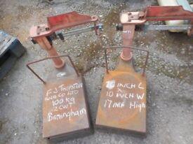 Platform scales vintage Scales Birmingham