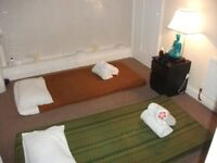 Thai Massage in Leamington Spa for full body massage open 10am until 8pm