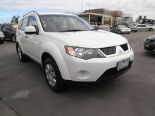 2006 Mitsubishi Outlander ZG MY07 LS White Orchid 6 Speed Constant Variable Wagon Heatherton Kingston Area Preview