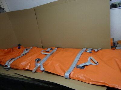 Rettungsdienst Sanitäter Vakuummatratze mit Pumpe aus Lagerbesand des ÖBH GERMA