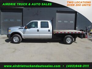 2012 Ford Super Duty F-350 SRW XLT 8.5 Ft Flat Deck Truck