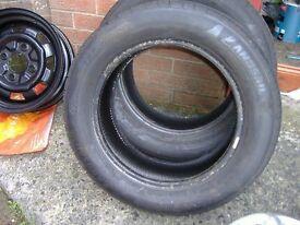 """Part worn Landsail 15"""" tyre 195/65r15 195 65 15"""