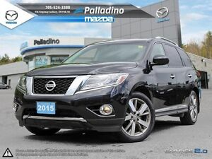 2015 Nissan Pathfinder Platinum -LOADED-SPACIOUS +LEATHER INTERI
