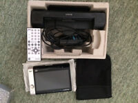 Sony DVD Walkman 7in LCD with integrated stereo speakers