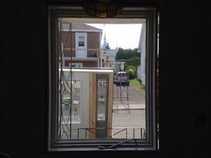 Fenêtres et porte extérieure