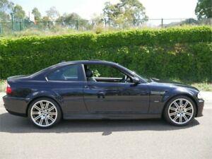 2005 BMW M3 E46 MY04.5 Carbon Black Seq Manual Auto-Clutch Coupe