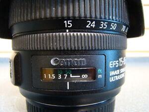 LENTILLE POUR APPAREIL PHOTO NUMERIQUE CANON 15-85MM -- 538837