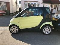 Smart Car Smart 0.6 Semi-Automatic 2002MY Pulse Spares or repairs