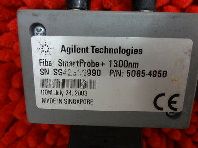 Agilent Sm 5065-4958 Fiber Smart Probe 1300nm Fiber Smartprobe Wirescope 350