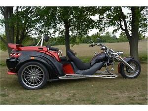 2017 REWACO RF2 GT TOURBACK TURBO AUTOMATIC TRIKE