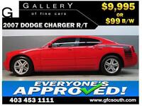 2007 DODGE CHARGER HEMI R/T *EVERYONE APPROVED* $0 DOWN $99/BW!