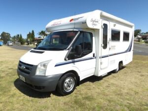 Suncamper Southern Cross – COMPACT - LARGE BATHROOM