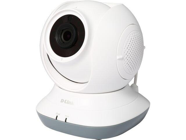 D-Link DCS-855L HD 720P Day/Night 2-Way Audio Temperature Sensor Pan/Tilt Wi-Fi