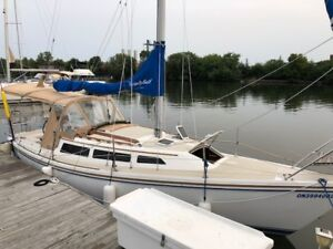 Beautiful Catalina 27 for sale, a must see!