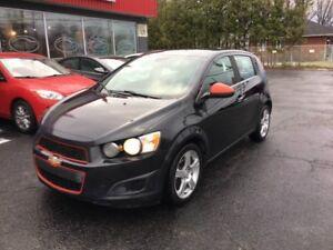 2013 Chevrolet Sonic LT GARANTIE GRATUITE 26$/sem* 0$ Dépôt