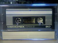 MEMOREX CRX II 90 CHROME CASSETTE TAPES (1987-1988)