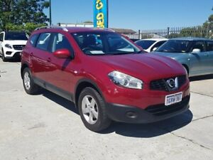 2010 Nissan Dualis J10 Series II MY2010 +2 Hatch X-tronic ST Red 6 Speed Constant Variable Hatchback St James Victoria Park Area Preview