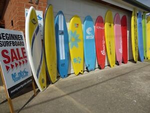 Mega Soft Board Clearance Sale! Beginner Foam Surf Boards 1/2 Price! Dee Why Manly Area Preview