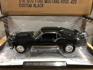 1/18 Diecast Highway 61 Custom 1970 Ford Mustang Boss 429