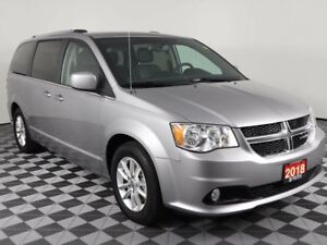 2018 Dodge Grand Caravan SXT w/DVD, NAVIGATION, POWER SLIDING DO