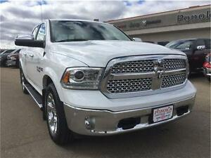 2016 Ram 1500 Laramie One owner...Low KM's Lots of Factory Warra