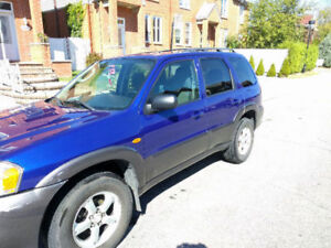 2005 Mazda Tribute - 76,500km!