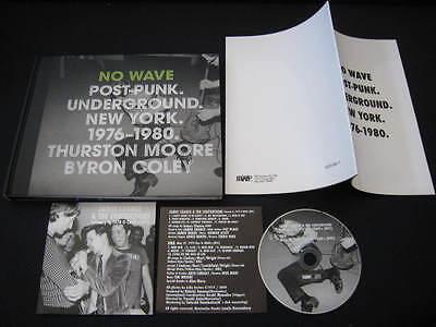 No Wave Post Punk Japan Photo Book w CD James Chance DNA Art Lindsey Blondie Eno