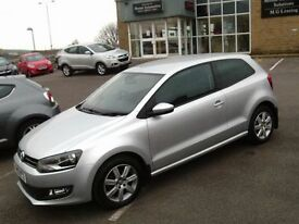 Volkswagen Polo 1.2 60 Match 3dr (silver) 2013