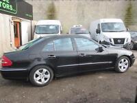 MERCEDES-BENZ E CLASS E270 CDI Avantgarde 4dr Tip Auto (black) 2005