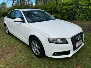 2010 Audi A4 B8 8K Sedan 4dr CVT 8sp 1.8T White Constant Variable Sedan Sheldon Brisbane South East Preview