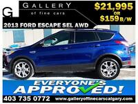 2013 Ford Escape SEL AWD $159 Bi-Weekly APPLY NOW DRIVE NOW