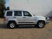 2011 Jeep Cherokee KK MY11 Sport Silver 4 Speed Automatic Wagon Beverley Charles Sturt Area Preview