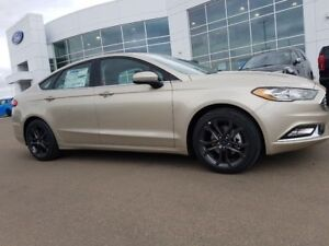 2018 Ford Fusion SE-1.5L Engine, Leather,Winter pkg, Remote star
